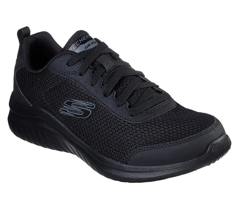 Skechers Mens 52764 BBK BLACK sports shoe