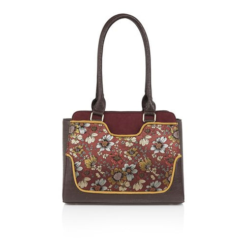 Ruby Shoo Bag Tunis RUSSET to match Daisy Shoe