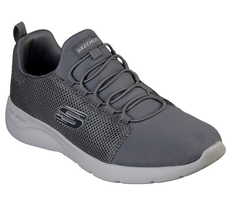 Skechers Mens DYNAMIGHT 2.0 - BYWOOD CHARCOAL 58361CHAR