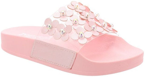Lelli Kelly LK 5912 Daiana Slider Sandals Pink
