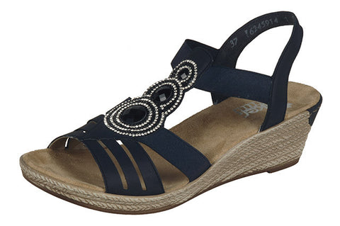 Rieker Ladies 62459-14 Ocean Shoes