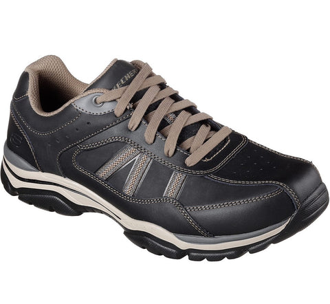 Skechers RELAXED FIT: ROVATO - TEXON 65418 Bktp BLACK n