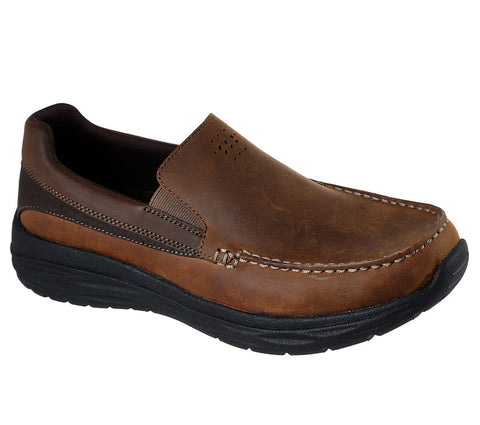 Skechers HARSEN - ORTEGO 65620 Cdb BROWN .