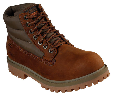 Skechers Verdict- Verno 65838 CDB BROWN Waterproof Boot