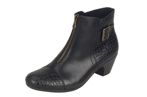 1ebef25e35d Ladies Rieker Ankle Boot 70581-00 Black – A.G. Meek