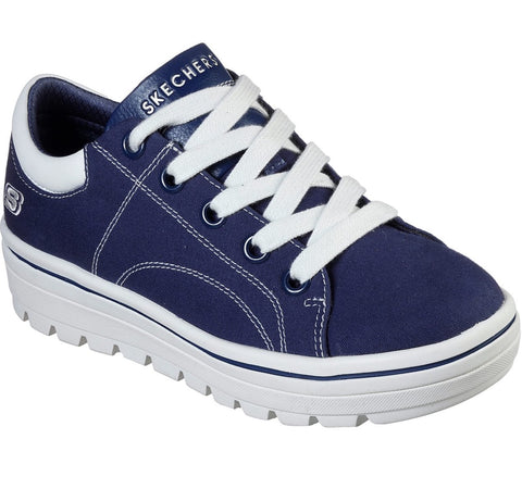 Skechers  NAVY  STREET CLEAT - BRING IT BACK 74100NVY Retro Sneaker