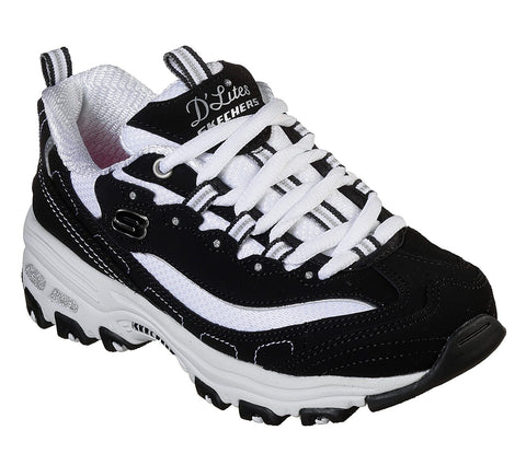 Skechers D'Lites 80587BKW Black / White