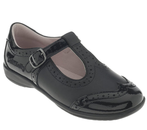 Lelli Kelly Black Patent School shoes Jennette