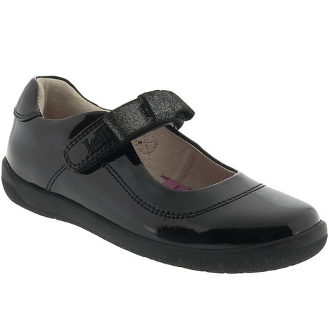 Lelli Kelly Black Patent School shoes Lexis