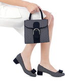 Ruby Shoo June court shoe Navy/White. Matching Riva bag also available