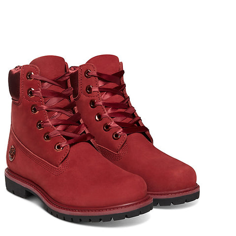 Timberland 6 inch Prem Ladies Waterproof Boot RED A15C7