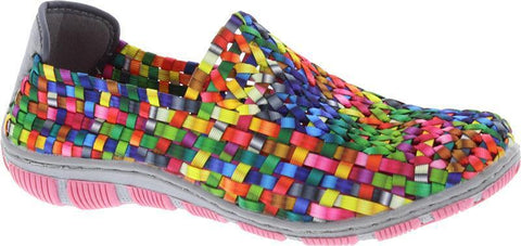 Adesso Layla  Tutti Frutti MULTI elasticated Casual Shoe