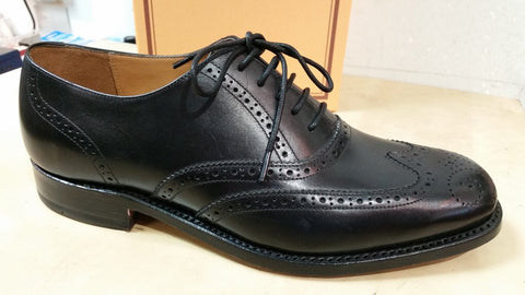 Barker Glasgow Classic Brogue in Black calf