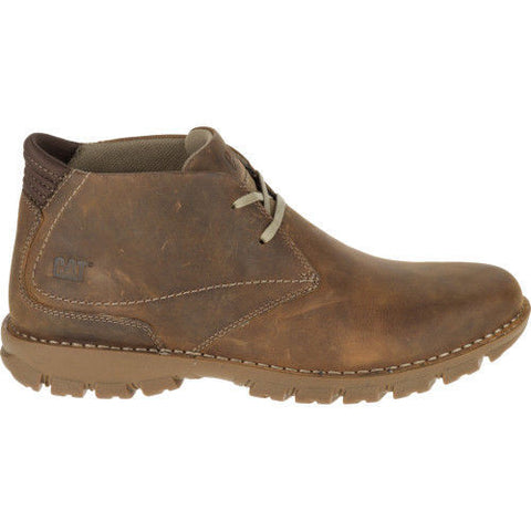 Mens Caterpillar Mitch Dark Beige