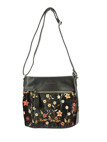 Laura Vita DREMIL 01 Shoulderbag in Black