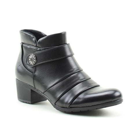 Heavenly Feet Ankle Boot  CLAIRE Black