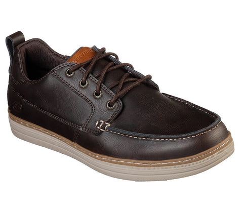 Skechers Mens Heston Sendo BROWN 65875 CDB Shoe
