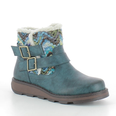 Heaven Feet Kassy OCEAN Bukle Ankle Boot