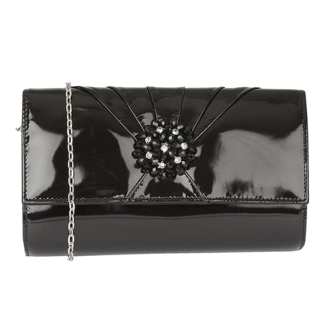 Lotus Aria Black Handbag To match Elodie Shoes