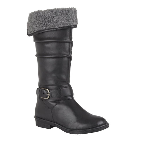 Lotus Talitha BLACK Knee High Lined Boot