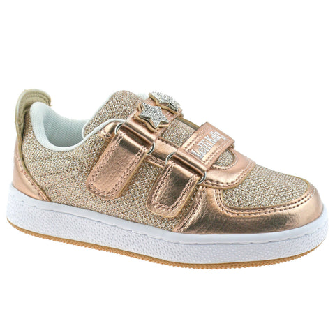 Lelli Kelly 7896 Colourisimma Bronze Trainers with changeable straps & Hair Clip Gift