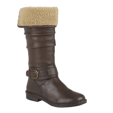Lotus Talitha BROWN Knee length Lined Boot