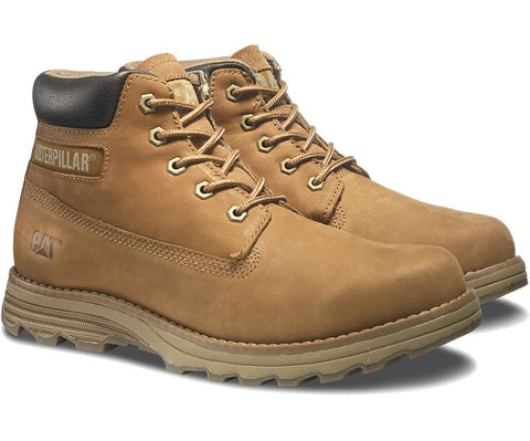 Caterpillar Mens Founder Bronze Work Boots