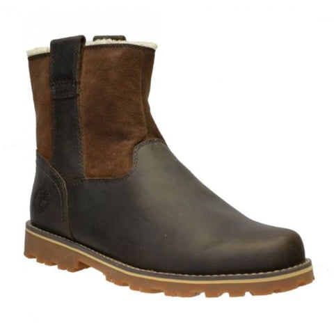Timberland Chestnut Ridge Warm Brown A14HG Shearling Lined Boots