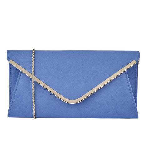 Lotus Sommerton Cornflower Blue Bag to match Zaria and Lizzie Shoes