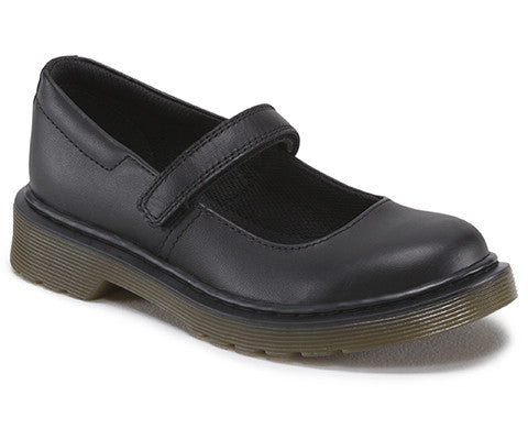 Dr. Martens Maccy Black Leather School shoes 15655001