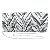 Lunar Elody Patterned Clutch Bag Code: ZLR499BK