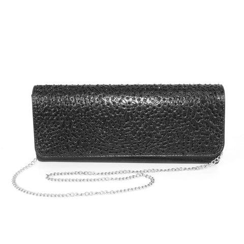 Lunar Fay Clutch Bag Code: ZLC122 Black