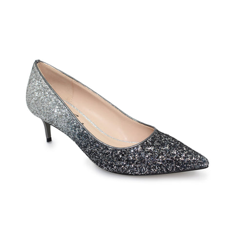 Ladies Lunar Court Shoe FLR474 Dash in Pewter matching bag ZLR474 available