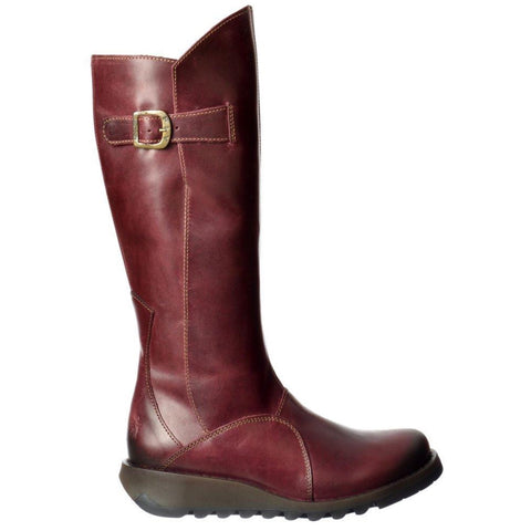 Fly London Long Boots MOL 2 Purple RRP £155.00