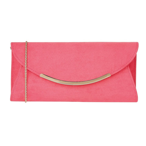 Lotus Avianna Clutch Bag Fuschia