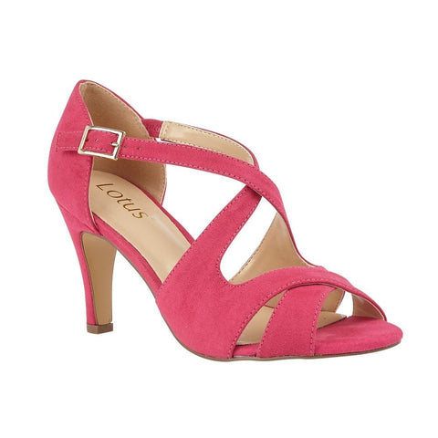 Lotus Sadia FUSCHIA Open Toe Dress sandals ULS157