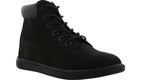TIMBERLAND 6 inch GROVETON LEATHER CHUKKA BOOT BLACK