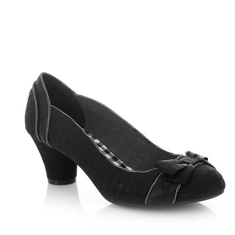 Ruby Shoo Hayley court shoe in Black