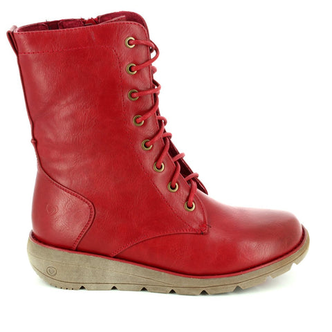 Heavenly Feet ankle boot lace Walker Cherry