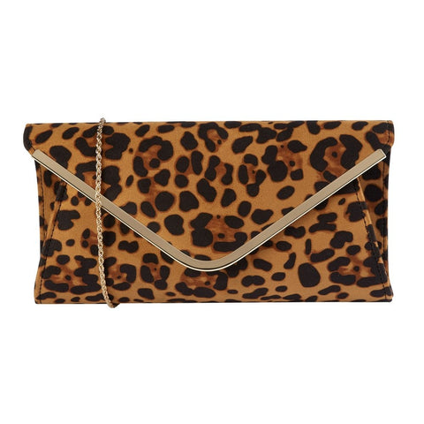 Lotus  SOMMERTON Leopard Clutch Bag