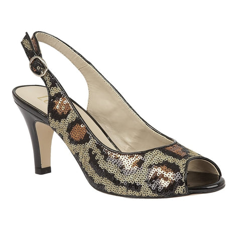 Lotus Palladia Leopard Ladies Shoes 50731