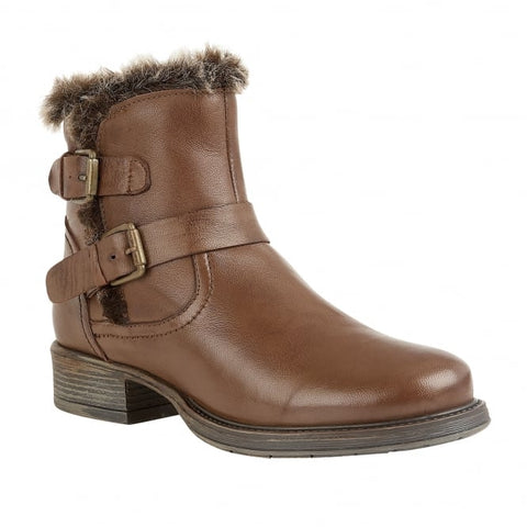 Lotus leather Ankle Boot Pizarro TAN Brown