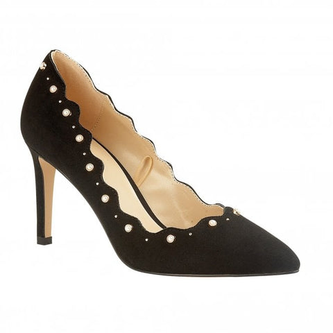 Lotus Court Shoe Popple BLACK