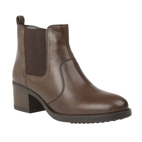 Lotus Rubay Brown Leather Ankle Boots