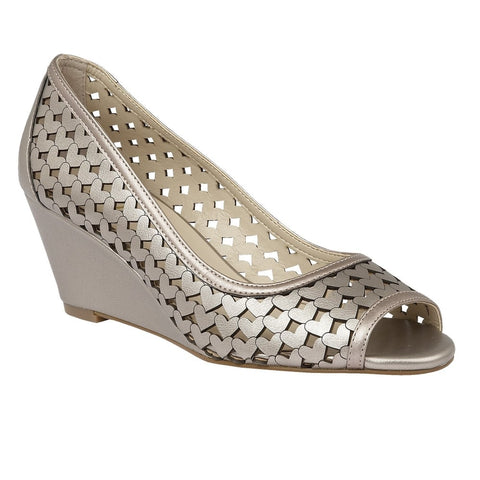 Lotus Valleta Pewter Ladies Shoes 50743