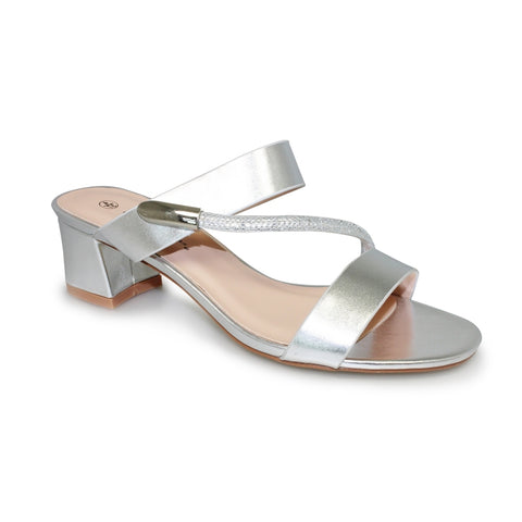 Ladies Lunar Sandal JLH940 Lynx in Silver Metalic