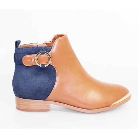 Lunar Perla Buckle Ankle Boot