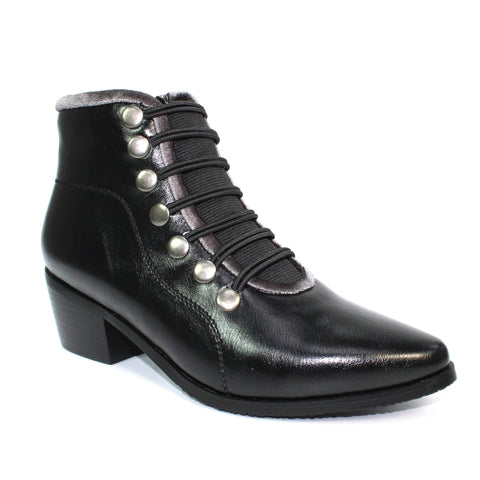 Lunar Napoleon Military Boot Black