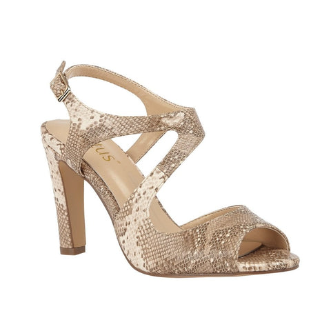 Lotus Shannon NATURAL SNAKE Dress Sandal ULS160