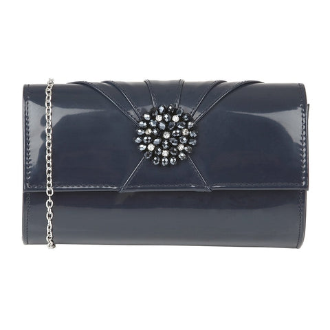 Lotus Aria Navy Handbag to match Elodie Shoes